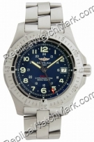 Breitling Aeromarine Colt Quartz Steel Blue Mens Watch A7438010-