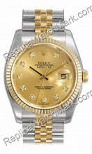 Swiss Rolex Datejust Mens Watch Oyster Perpetual 116.233 CDJ-