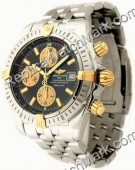 Breitling Chronomat Evolution Windrider jaune 18 kt Mens Steel G