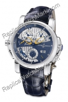 Ulysse Nardin Sonata Mens Cattedrale Dual Time Watch 670-88-213