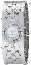 Gucci Twirl 112 Stainless Steel Ladies Bangle Watch YA112512