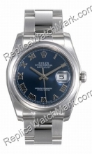 Swiss Rolex Oyster Perpetual Datejust Mens Watch 116200-BLRO