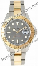 Suíça Rolex Oyster Perpetual Yachtmaster Mens Watch 16623-GYSO