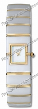 Rado Diaqueen Ceramic/18K Yellow Gold Mother-of-Pearl Ladies Wat