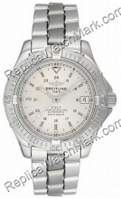 Breitling Aeromarine Colt Automatic Steel Mens Watch A1735006-G5