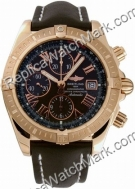 Breitling Chronomat Evolution Windrider 18kt Rose Gold Mens Blac