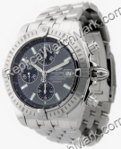 Breitling Windrider Chronomat Evolution Grey Mens Steel Watch A1