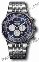 Breitling Navitimer Mens Património Blue Steel Watch A3534012-C5
