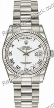 Hombres Rolex Oyster Perpetual Date Día-Watch 118239-WR