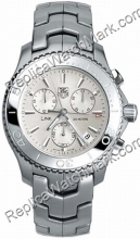 Tag Heuer Link Quartz Chronograph 1/10th cj1111.ba0576