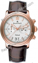 Blancpain Leman Flyback Grand Homme Date Watch 2885F-36B42-53B