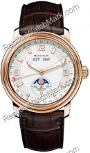 Blancpain Leman Moon Phase Calendar Mens Watch 2863-3642-53B