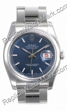 Swiss Rolex Oyster Perpetual Datejust Mens Watch 116200-BLSO
