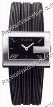G-Gucci Watch 100G Steel Mens Watch cinturino in gomma YA100304