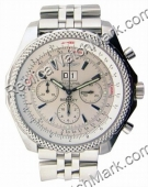 Breitling Bentley 6,75 Mens Steel Chronograph Watch A4436212