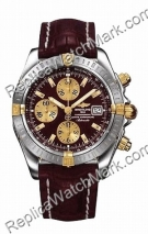 Breitling Chronomat Evolution Windrider jaune 18 kt Gold Hommes