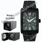 SWISS Mens Limousine LEGEND Watch 30012-BLK-MOPBLK
