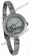 Gucci Gemusterte Dial Bangle Damenuhr YA105528