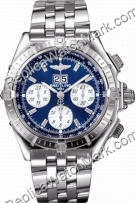 Breitling Windrider Crosswind Steel Blue Mens Watch A4435512-C5-