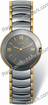 Rado Coupole Platinum-Tone Ceramic Mens Watch R22623142