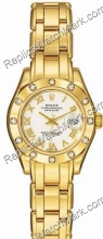 Rolex Oyster Perpetual Lady Datejust Pearlmaster 18kt Gelbgold D