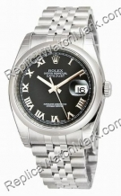 Swiss Rolex Oyster Perpetual Datejust Mens Watch 116200-BKRJ
