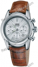 Oris Artelier Mens Chronograph Watch 676.7547.40.51.LS
