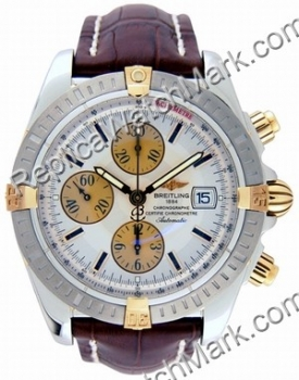 Breitling Windrider Chronomat Evolution 18kt Yellow Gold Steel M