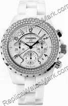 Chanel J12 Mens Chronograph Watch H1008