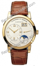 A 1 Mens Moonphase Lange Lange & Sohne Watch 109,021