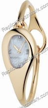 Gucci 103 Mors Horsebit 18 kt Mesdames Gold Tone Diamond Watch Y