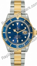 Swiss Rolex Oyster Perpetual Submariner Date Mens Watch 16.613-B