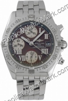 Breitling Cockpit Windrider Mens Chrono Watch A1335812-Q5-366A