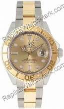 Swiss Rolex Oyster Mens Yachtmaster Perpetual Watch 16623-OSC