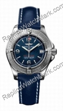 Breitling Aeromarine Colt Oceane Mesdames Steel Blue Watch A7738