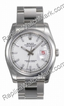 Suiza Hombres Rolex Oyster Perpetual Datejust Mira 116200-OSM