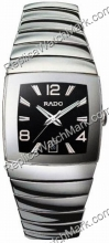 Rado Sintra Platinum-tone Ceramic Black Mens Watch R13599152