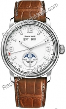 Blancpain Leman Moon Phase Calendario Mens Watch 2863-1127-53B