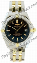 Wings Windrider Breitling automatique jaune 18 kt Mens Steel Gol