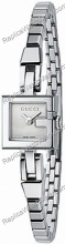 Gucci G-Watch 102G Mesdames cadran argenté Mini Watch YA102506