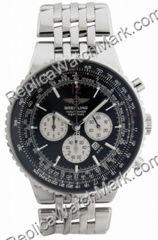 Breitling Navitimer Mens patrimoine Steel Black Watch A3535024-B