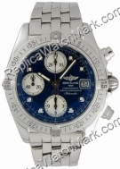 Breitling Windrider Chrono Cockpit Steel Blue Mens Watch A133571