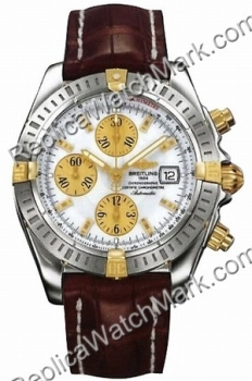 Breitling Chronomat Evolution Windrider 18kt Yellow Gold Brown M