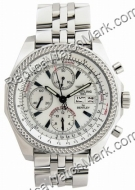 Breitling Bentley GT Mens Steel Chronograph Watch A1336212-A5-97