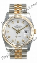 Hombres Rolex Oyster Perpetual Datejust Mira 116233-WDJ