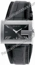 G Gucci Watch-Mens Steel Watch 100G YA100302