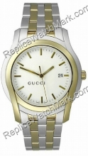 Mens Gucci 5505 Gold-Tone Stainless ver YA055214