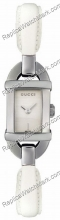 Gucci 6800 Serie Steel White Damenuhr YA068522