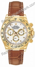 Swiss Rolex Oyster Perpetual Cosmograph Daytona 18kt Gold Mens W