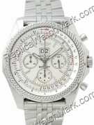 Breitling Bentley 6,75 Mens Steel Chronograph Watch A4436212-G5-